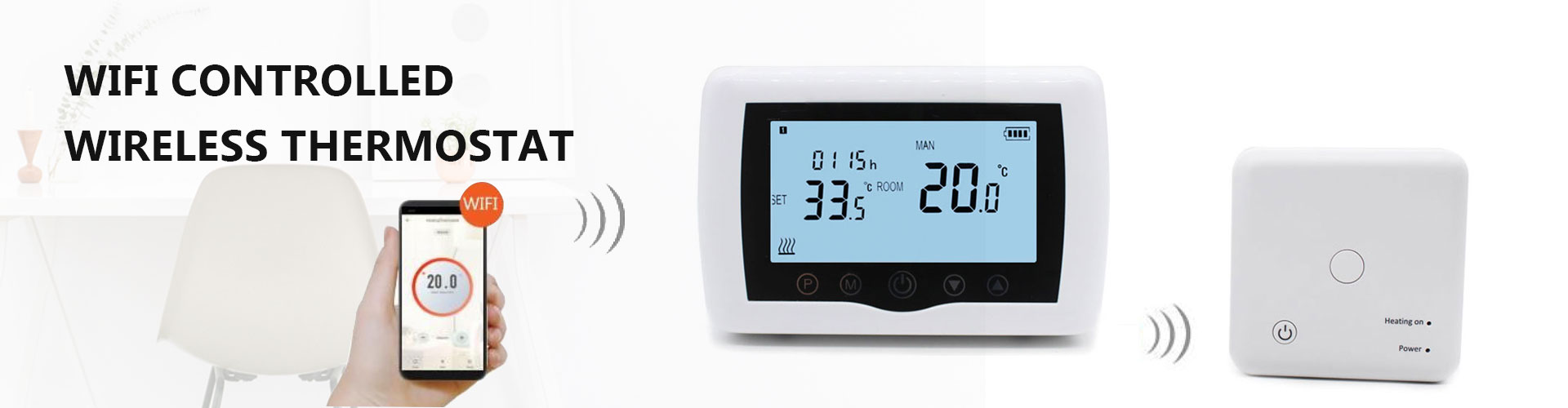 Hotowell wifi wireless boiler thermostat