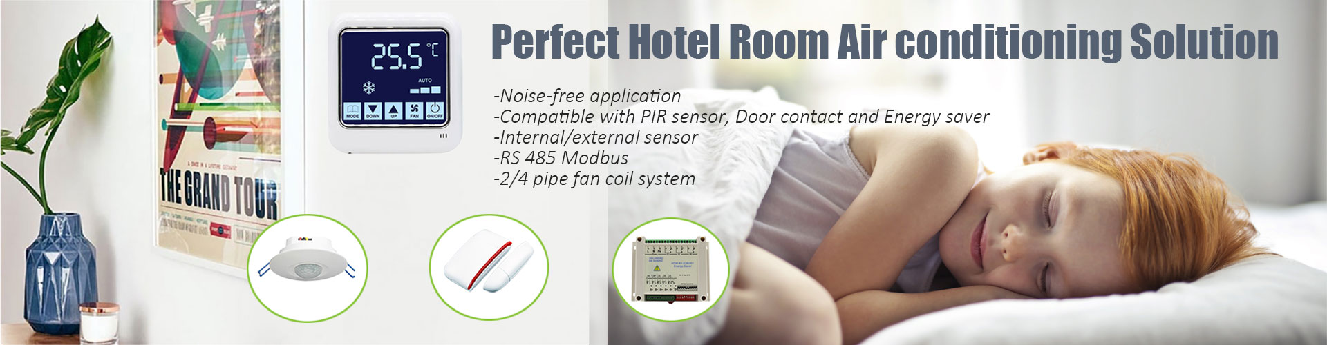 hotowell noise free split thermostat