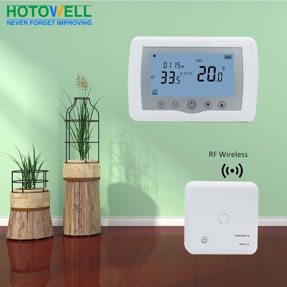 Tuya APP Control Room Thermostat Wireless with Receiver for
