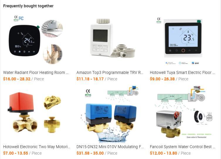 floor heating parts