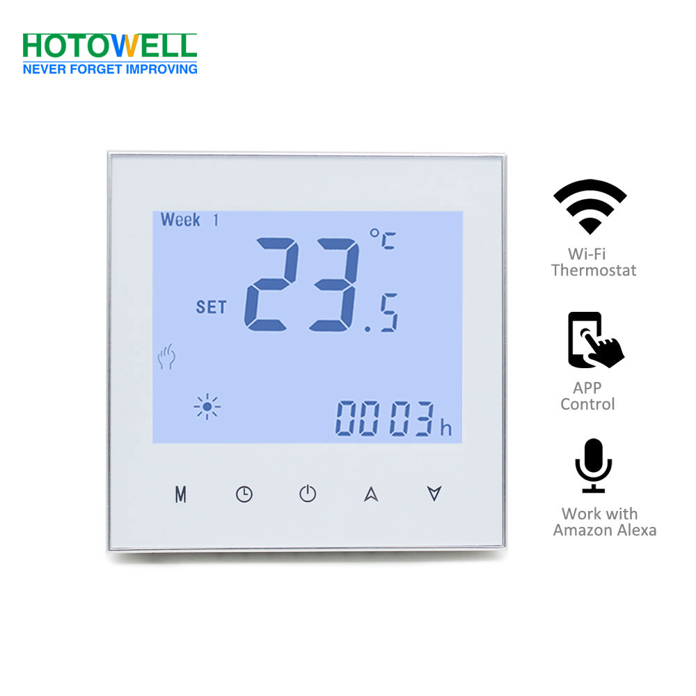 Digital Touch screen heating thermostat with wifi control