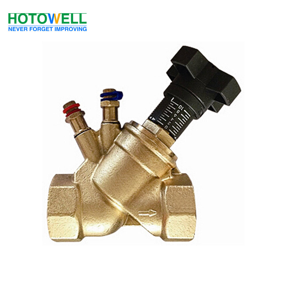 Brass/Bronze Manual Static Balance Valve