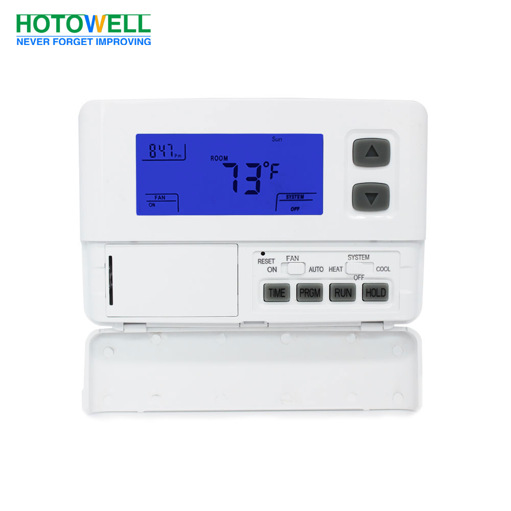 Wall mounting Programmable(5+2) single stage thermostat