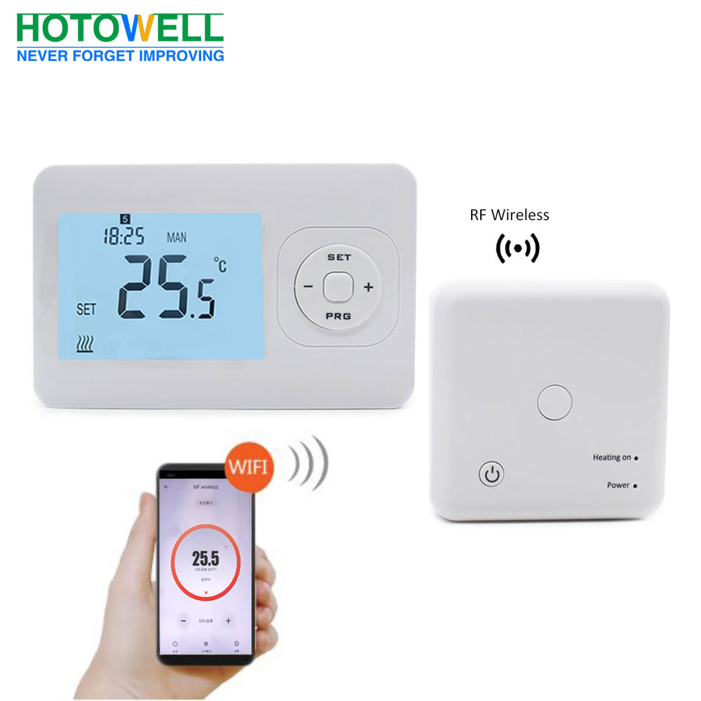 Smart wireless & wifi control floor heating thermostat