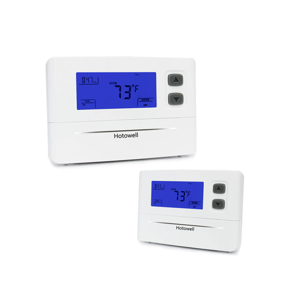 Hotowell new model 1Heat/1Cool single stage digital heat pump thermostat for america