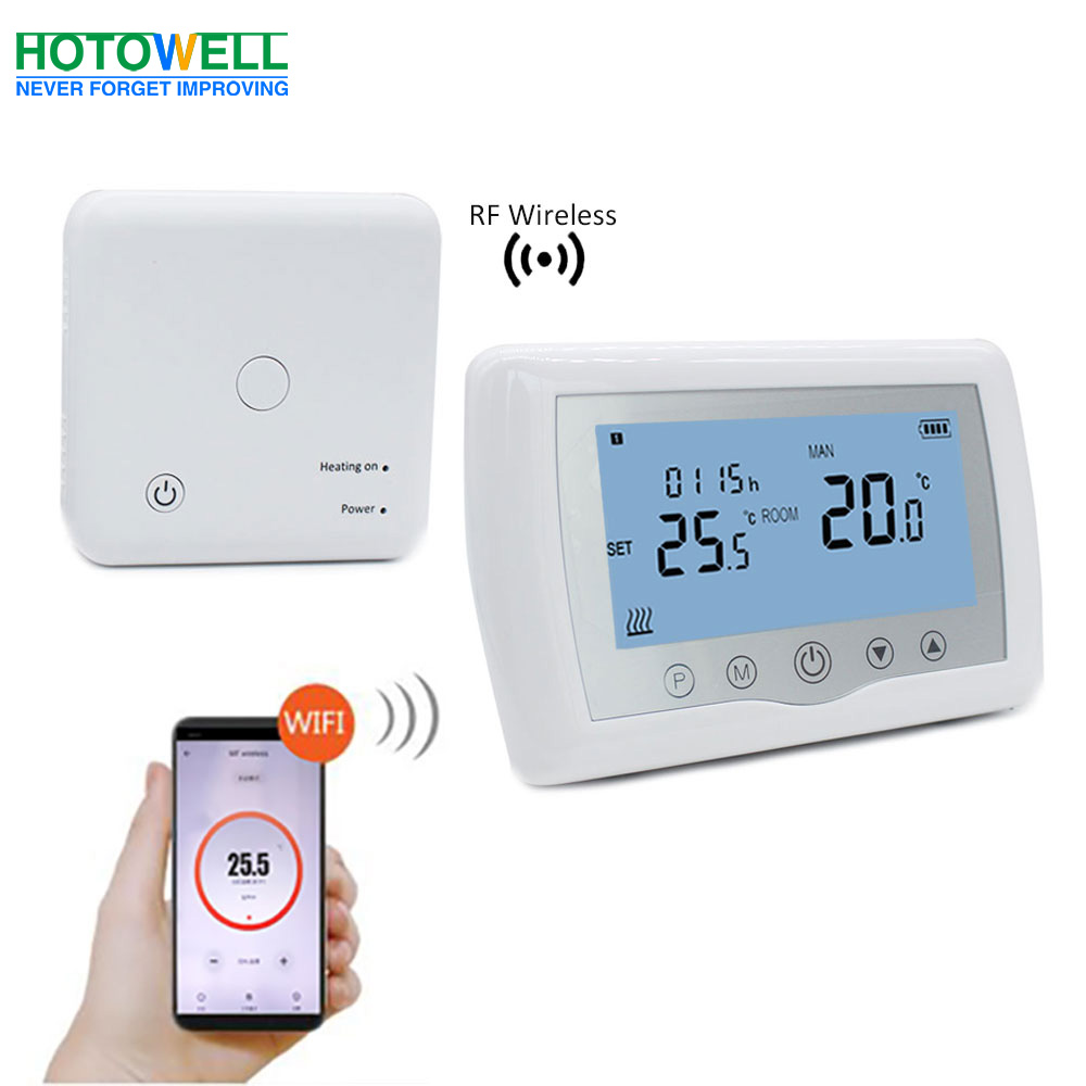 Programmable WiFi Wireless Heating Thermostat Comply For UK Boiler PLUS