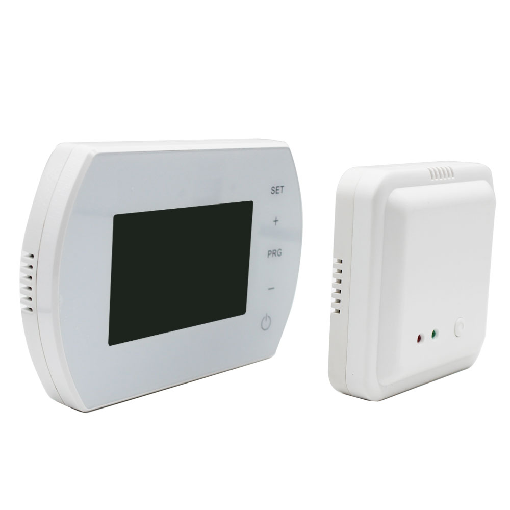 2019 Hot Sale Weeking Programmable Digital Wireless Thermostat For Gas  Water Boiler Heating System