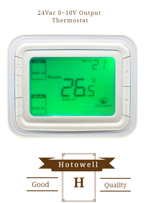 Best Thermostat 2020.2020 Best Selling Hotowell 0 10v Fan Coil Unit Thermostat