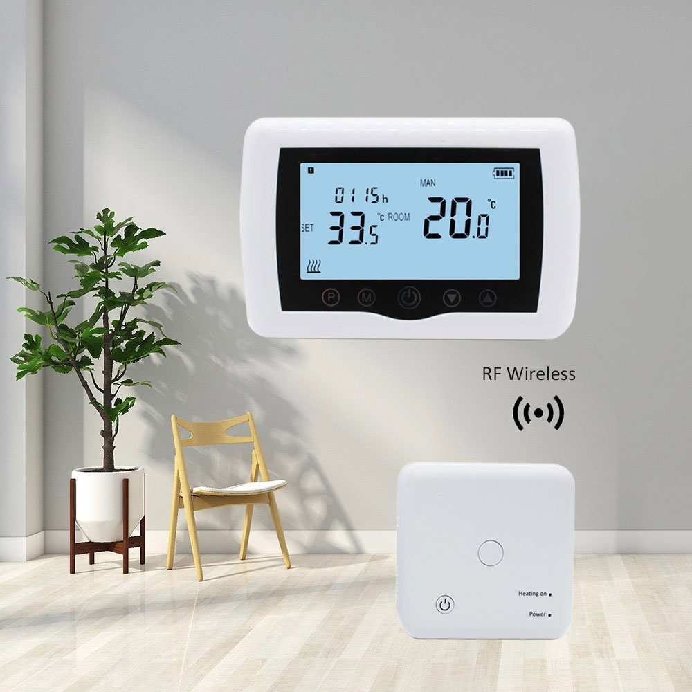 Amazon Hot Seller 2020 Programmable Digital Wifi Wireless Room Thermostat For Gas Boiler