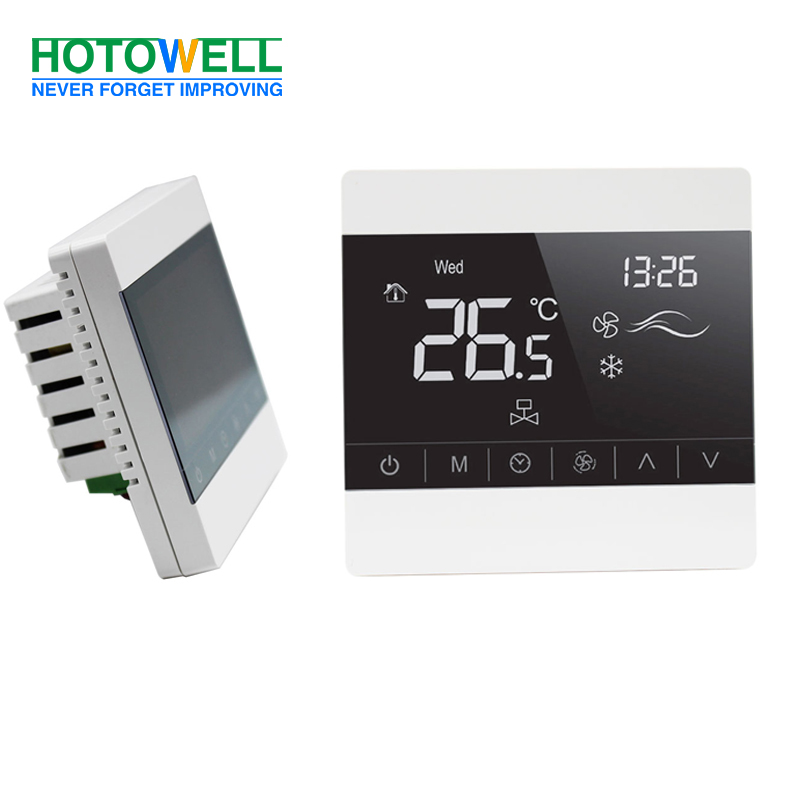 Digital Fan Coil Controller Air Conditioner Room Thermostat for HVAC System