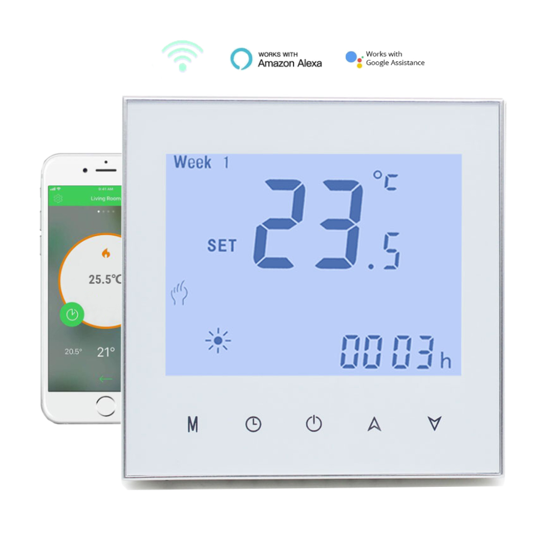 Smart Digital Temperature Controller Thermostat With Alexa