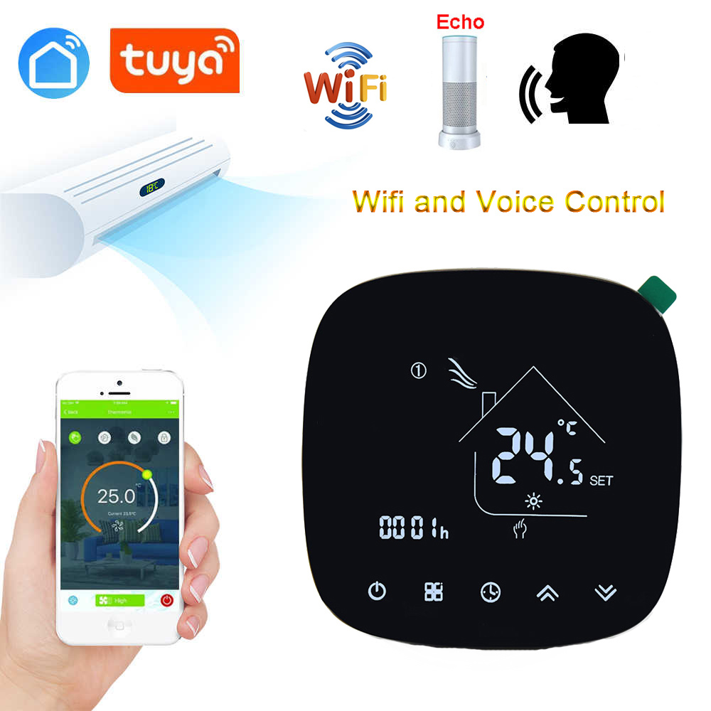 Smart Home Electric Heating Thermostat For Central Heating System