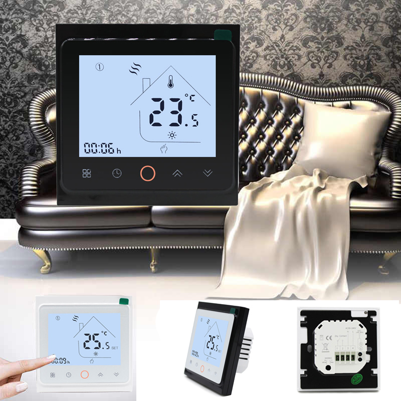 Digital Programmable Water Heater Temperature Controller Wifi Thermostat For Heating System