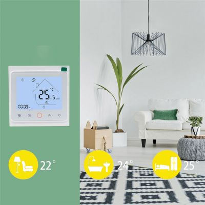 Wifi Connect Thermostat to Digital Electric Gas Boiler Heat Room Thermostat