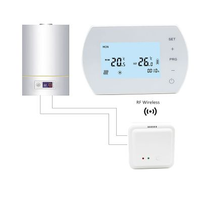 Programmable Digital Heating Wireless Thermostat For gas boiler Heating